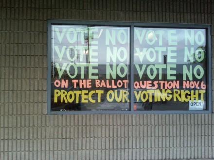 Vote No headquarters